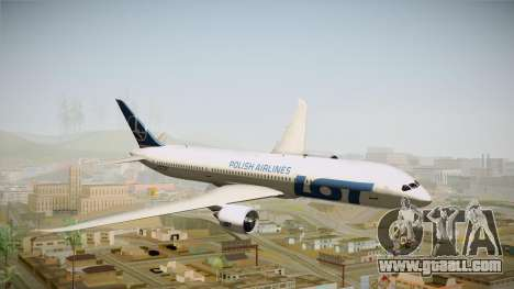 Boeing 787 LOT Polish Airlines for GTA San Andreas