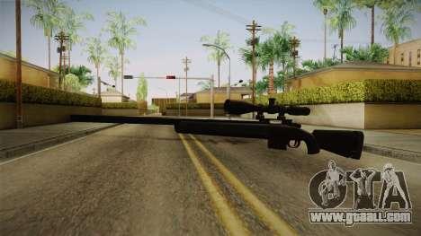 Remington M24 for GTA San Andreas second screenshot