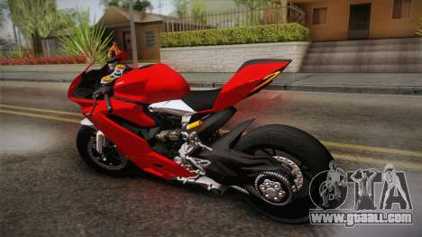 Ducati 1299 Panigale S 2016 for GTA San Andreas left view