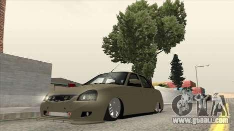 Lada Priora TURBO for GTA San Andreas