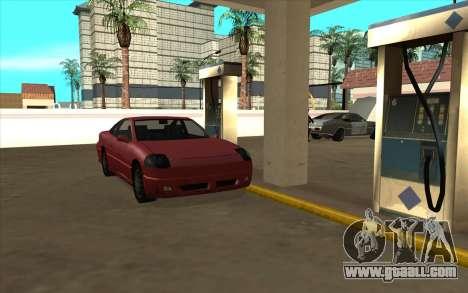 Life situation v6.0 - petrol Station for GTA San Andreas second screenshot