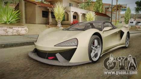 GTA 5 Progen Itali GTB for GTA San Andreas right view