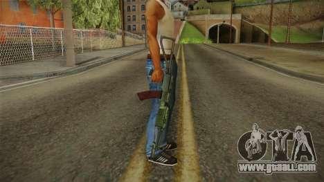 Battlefield 4 - AEK-971 for GTA San Andreas third screenshot