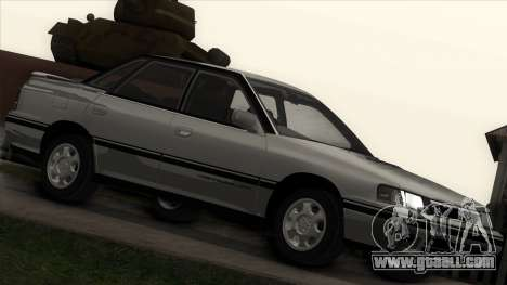 Subaru Legacy RS for GTA San Andreas left view