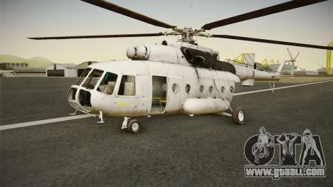 Mil Mi-8 MTV-1 Croatian Air Force for GTA San Andreas