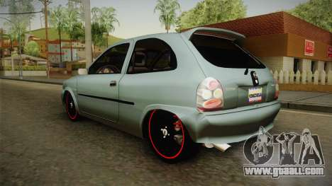 Chevrolet Corsa Speed 2006 v2 for GTA San Andreas right view