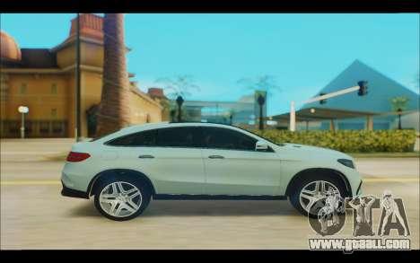 Mercedes-Benz GL63 for GTA San Andreas left view
