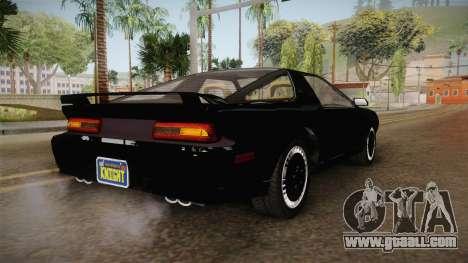 GTA 5 Imponte Ruiner 2000 IVF for GTA San Andreas back left view