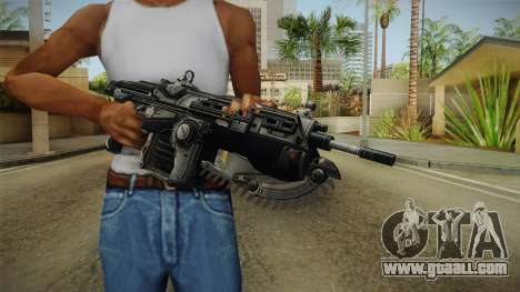 Gears Of War II - Mark 2 Lancer Assault Rifle for GTA San Andreas