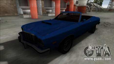1975 Ford Gran Torino Cabrio for GTA San Andreas right view