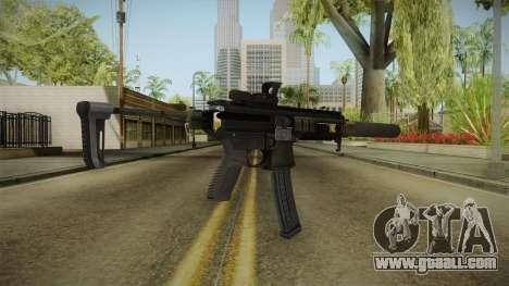 Battlefield 4 - SIG MPX for GTA San Andreas second screenshot