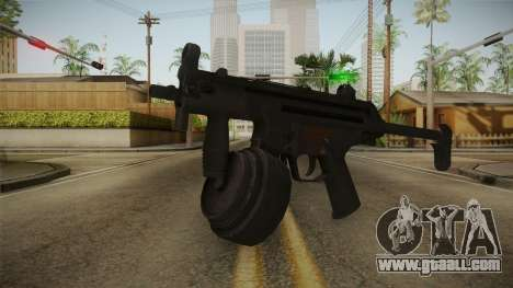 MP-5K Drum Mags for GTA San Andreas