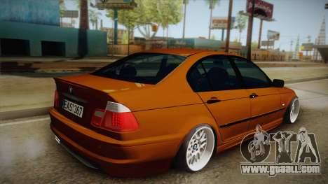 BMW 320i E46 for GTA San Andreas left view