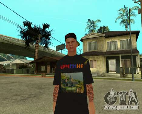 Skin VLA-1 Armenian V4 for GTA San Andreas