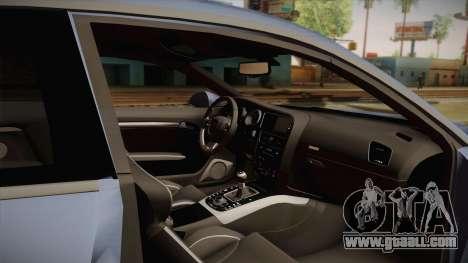 Audi S5 2017 for GTA San Andreas inner view