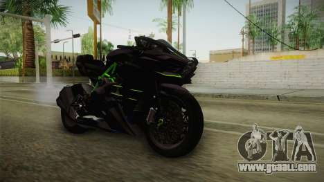 Kawasaki H2 2015 x Z1000 x Diavel for GTA San Andreas right view
