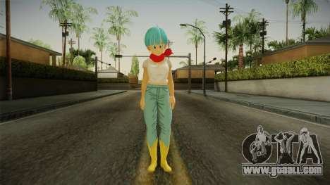 Dragon Ball Xenoverse 2 - Bulma DBS v2 for GTA San Andreas second screenshot