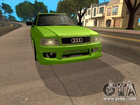 Audi 80 NFS for GTA San Andreas back left view