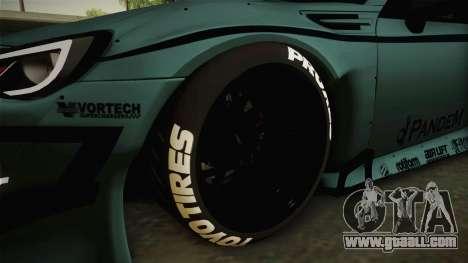 Subaru BRZ Pandem Rocket Bunny v3 for GTA San Andreas back view
