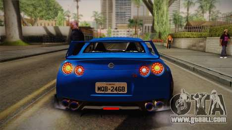 Nissan GT-R Street Race for GTA San Andreas side view
