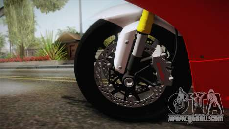 Ducati 1299 Panigale S 2016 for GTA San Andreas back view