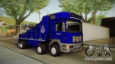 MAN F2000 Tow Truck PDRM for GTA San Andreas