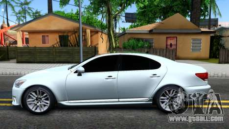 Lexus LS XF40 for GTA San Andreas left view