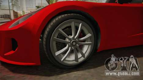 GTA 5 Coil Rocket Voltic IVF for GTA San Andreas back view