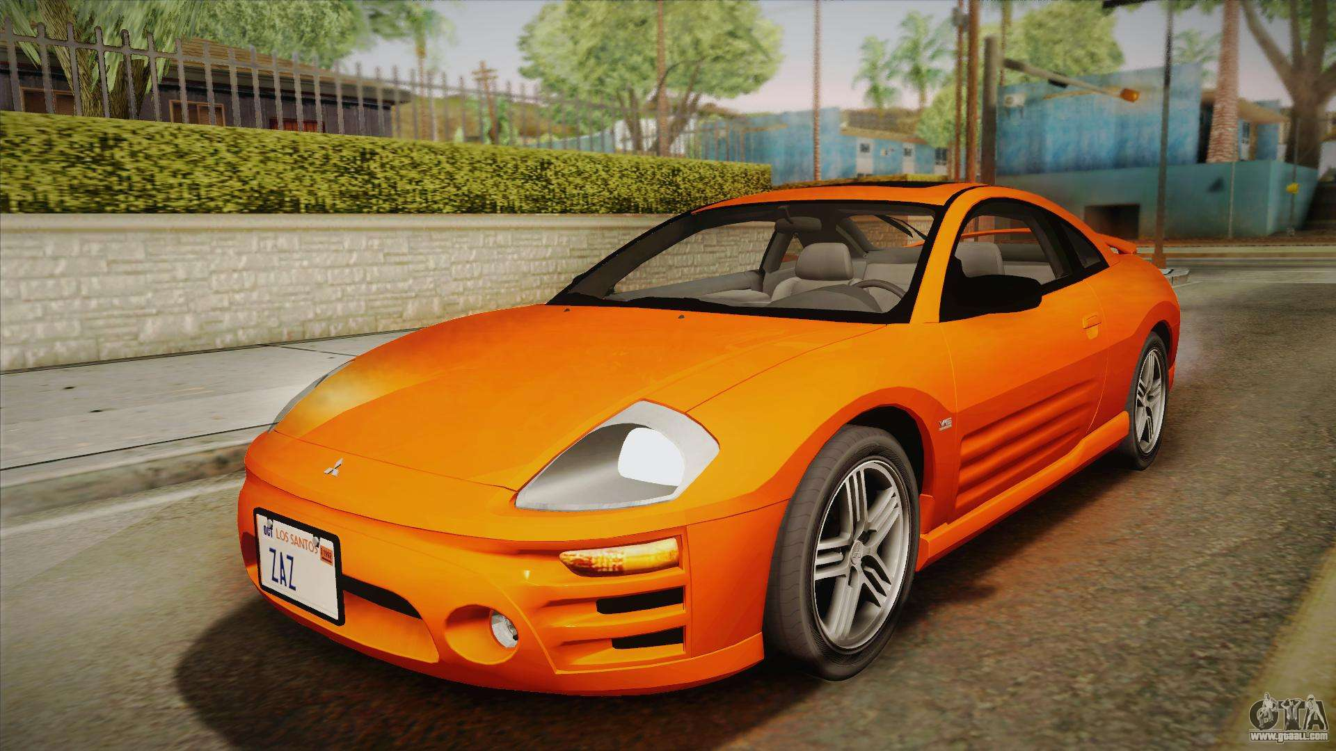 mitsubishi eclipse gts mk iii 2003 ivf for gta san andreas. Black Bedroom Furniture Sets. Home Design Ideas