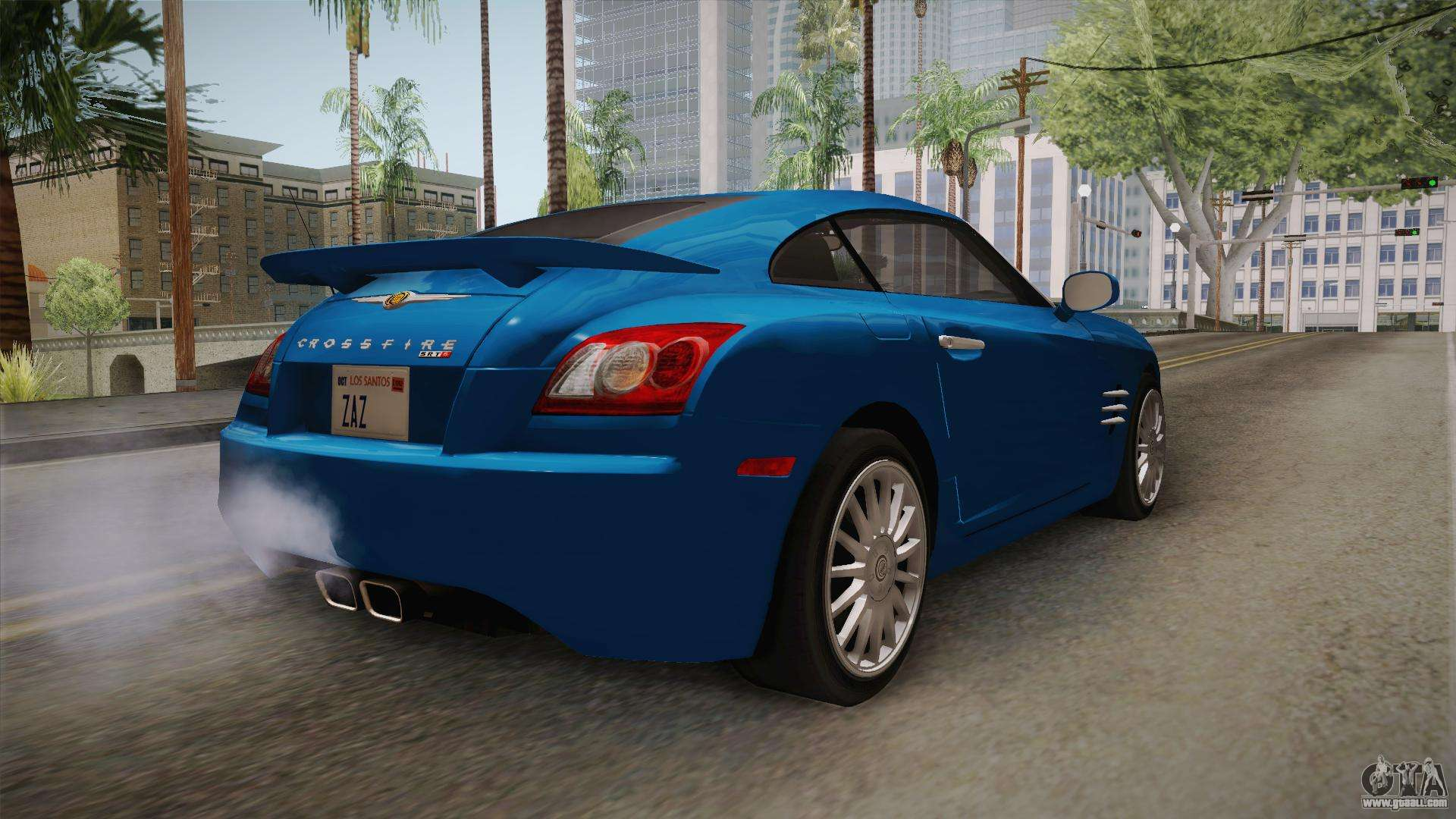 chrysler crossfire srt 6 2006 for gta san andreas. Black Bedroom Furniture Sets. Home Design Ideas