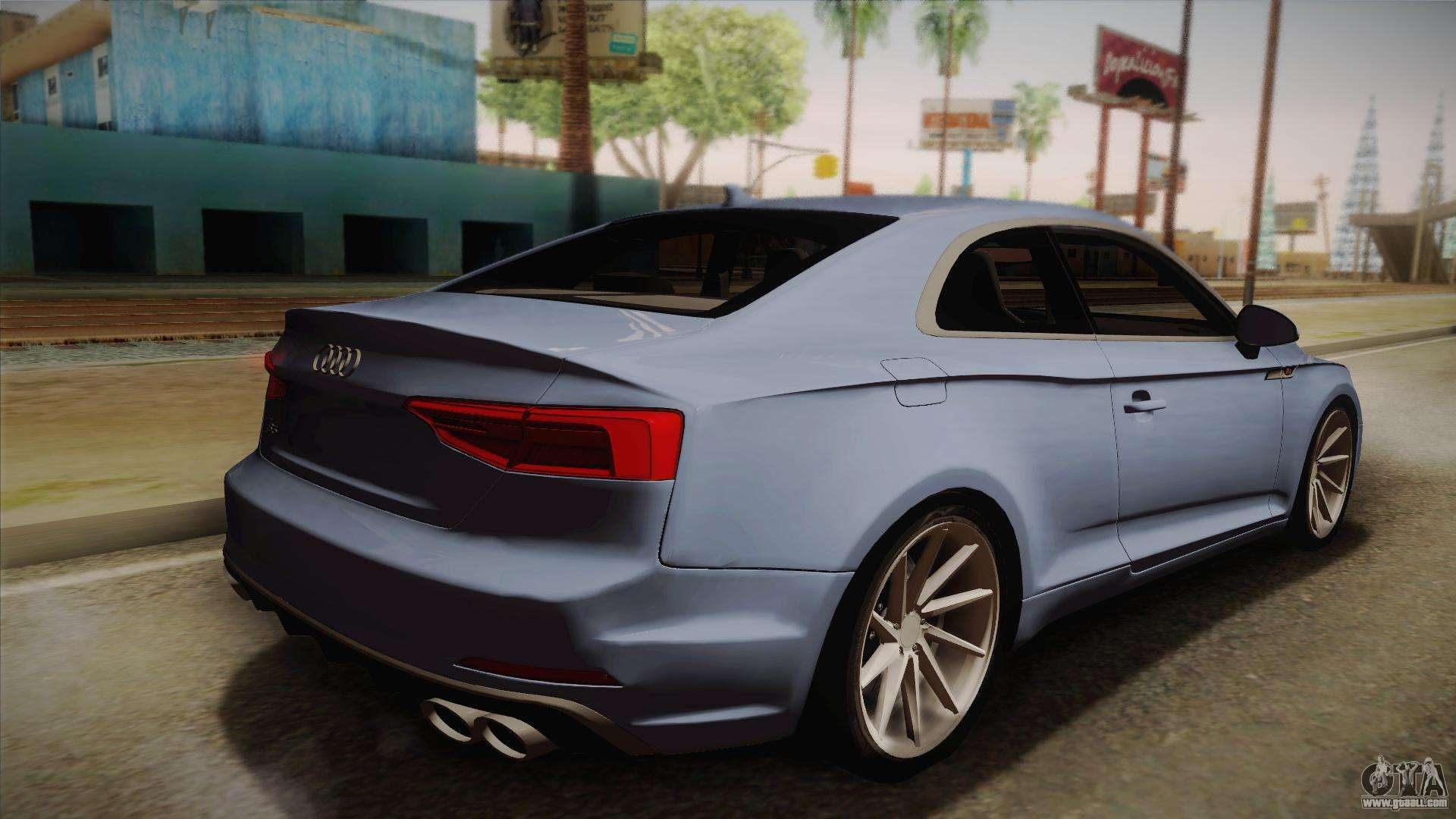 audi s5 2017 for gta san andreas. Black Bedroom Furniture Sets. Home Design Ideas