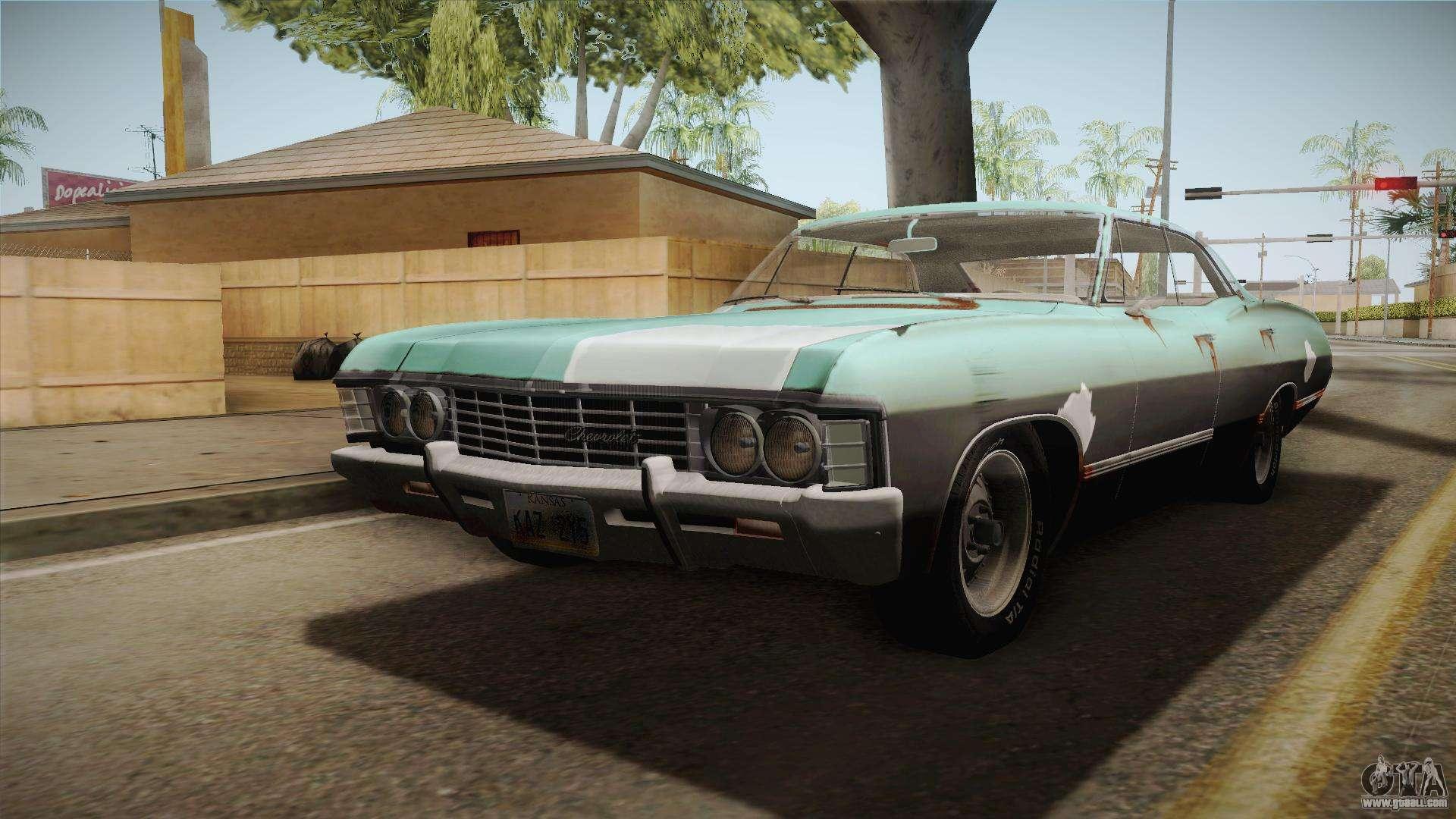 chevrolet impala 1967 for gta san andreas. Black Bedroom Furniture Sets. Home Design Ideas