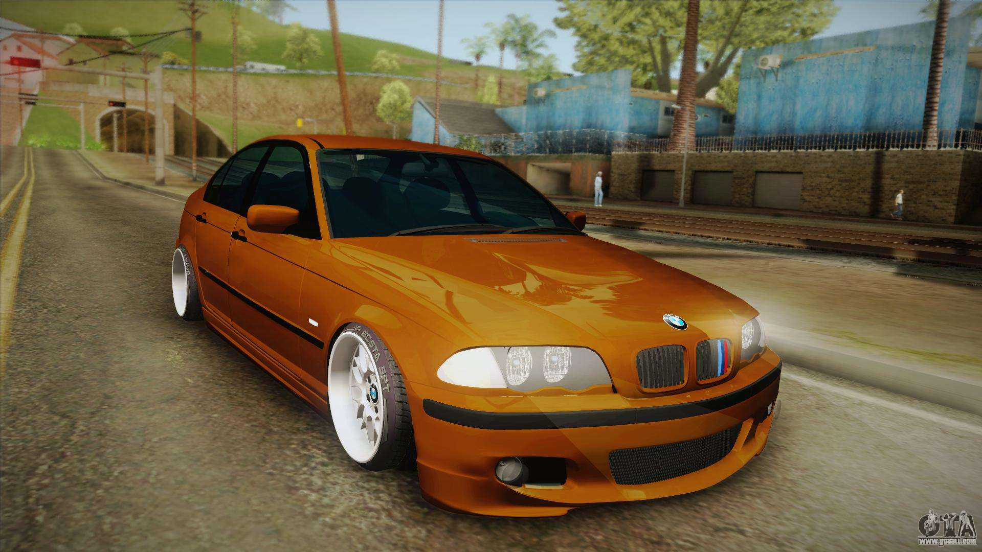 bmw 320i e46 for gta san andreas. Black Bedroom Furniture Sets. Home Design Ideas