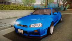 Nissan Skyline R34 14th Street for GTA San Andreas