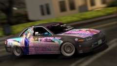 Toyota Mark 2 ITASHA PROJECT IDOLMASTER MATSURI for GTA San Andreas