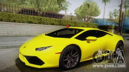 Lamborghini Huracan FBI 2014 for GTA San Andreas