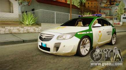 Opel Insignia Guardia Civil Traffic for GTA San Andreas