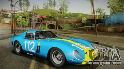 Ferrari 250 GTO (Series I) 1962 HQLM PJ2 for GTA San Andreas