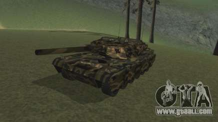 Rhino woodland camo for GTA San Andreas