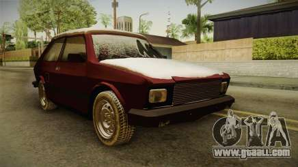 Yugo Koral 55 Winter for GTA San Andreas