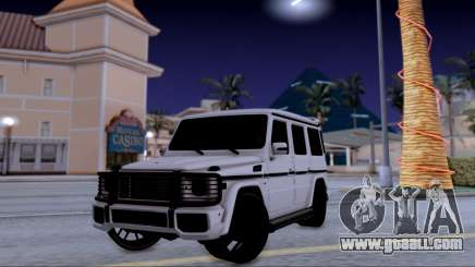 Mercedes-Benz G500 for GTA San Andreas
