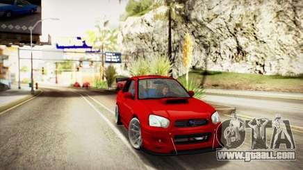 SUBARU IMPREZA WRX STi (IVF 2.0.2) for GTA San Andreas