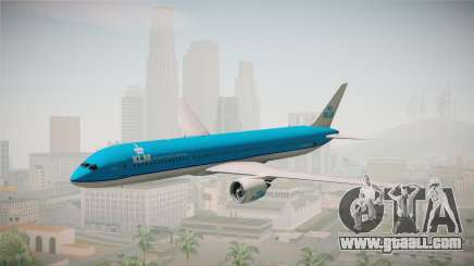 Boeing 787 KLM for GTA San Andreas