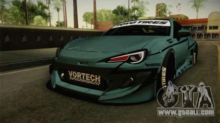 Subaru BRZ Pandem Rocket Bunny v3 for GTA San Andreas