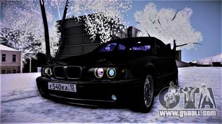 BMW 540 E39 for GTA San Andreas