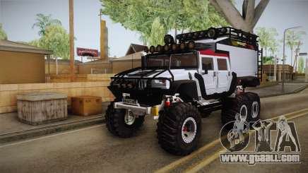 Hummer H1 Monster for GTA San Andreas