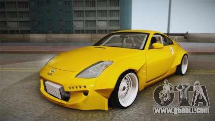 Nissan 350Z Rocket Bunny for GTA San Andreas
