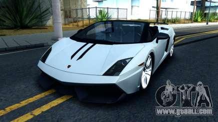 Lamborghini Gallardo LP570-4 Spyder 2012 for GTA San Andreas