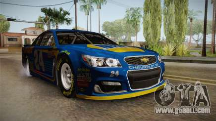 Chevrolet SS Nascar 24 NAPA 2017 for GTA San Andreas