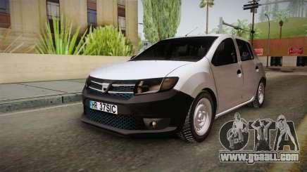 Dacia Sandero Székely for GTA San Andreas
